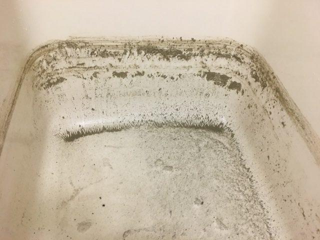 練馬区 追い焚き配管洗浄(風呂釜洗浄)⑨