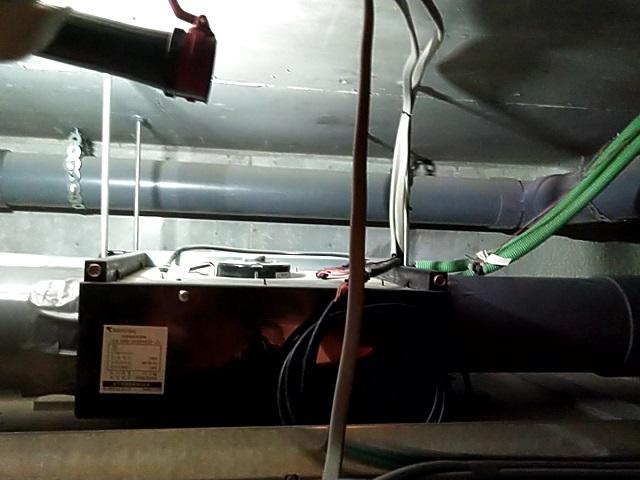 中央区月島 浴室暖房乾燥機清掃②