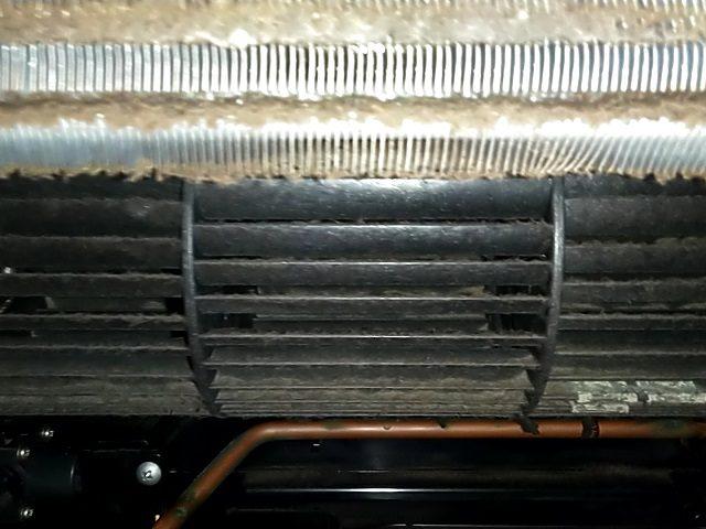 中央区月島 浴室暖房乾燥機清掃⑦